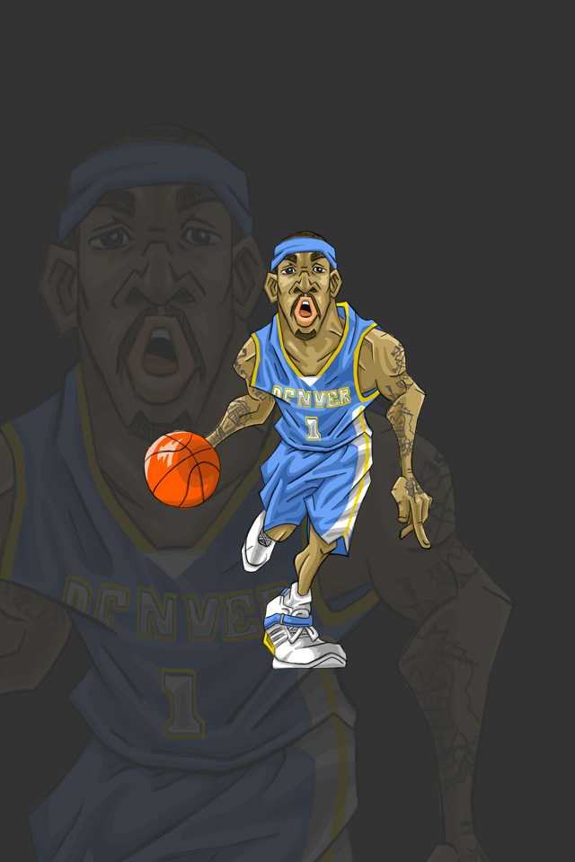 iPhone Wallpaper(iPhone壁紙、携帯待ち受け)J. R. Smith(J.R.スミス)